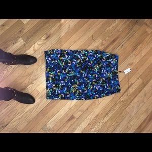 NWT Milly Jewel Spandex Midi Skirt Size 6